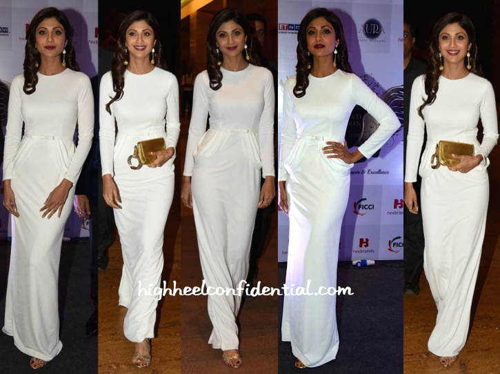Shilpa Shetty In Amit GT At Brand Vision India Awards-1