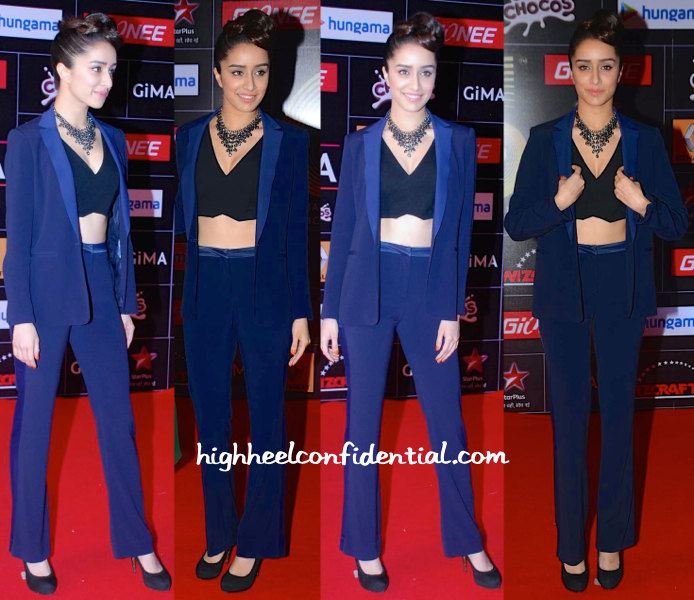 Shraddha Kapoor At Global Indian Music Awards (GIMA) 2015-1