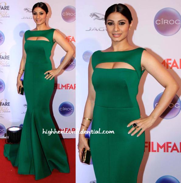 Tanisha Mukherjee In Gauri And Nainika At Filmfare Glamour And Style Awards 2015-2
