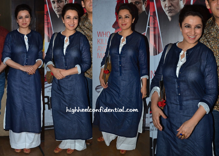 Tisca Chopra In Sustain By Good Earth At Rahasya Screening