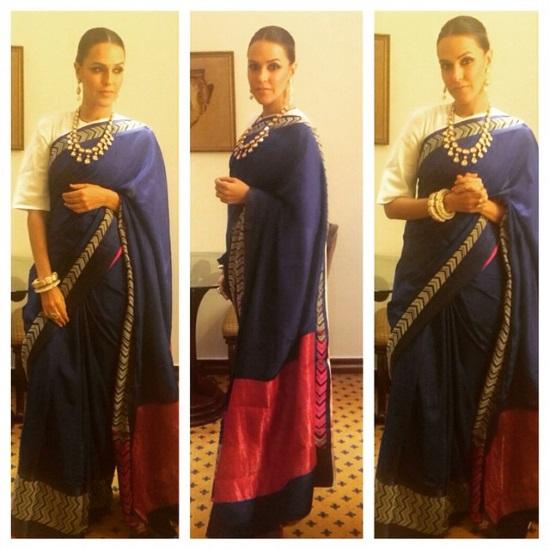 neha-dhupia-raw-mango-chaudhary-wedding-1