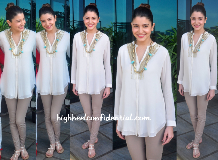 Anushka Sharma Wears Rohit Gandhi Rahul Khanna To NH10 Success Celebrations