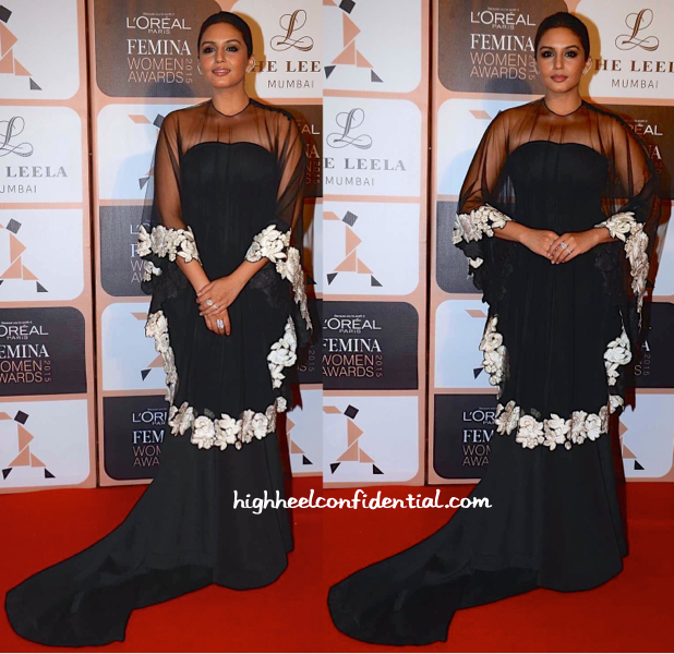 Huma Qureshi At L'Oréal Femina Women's Awards 2015-2
