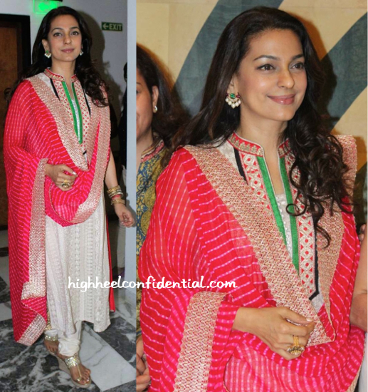 Juhi Chawla At A Dialysis Center Inauguration-1