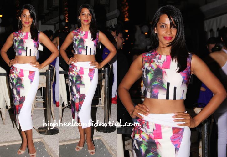 Mugdha Godse In Tanieya Khanuja At Candice Pinto's Birthday