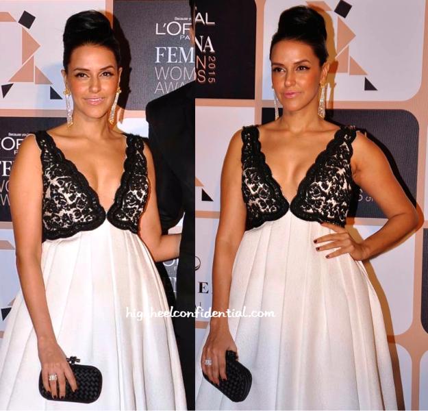 Neha Dhupia In Rocky S At L'Oréal Femina Women's Awards 2015-2