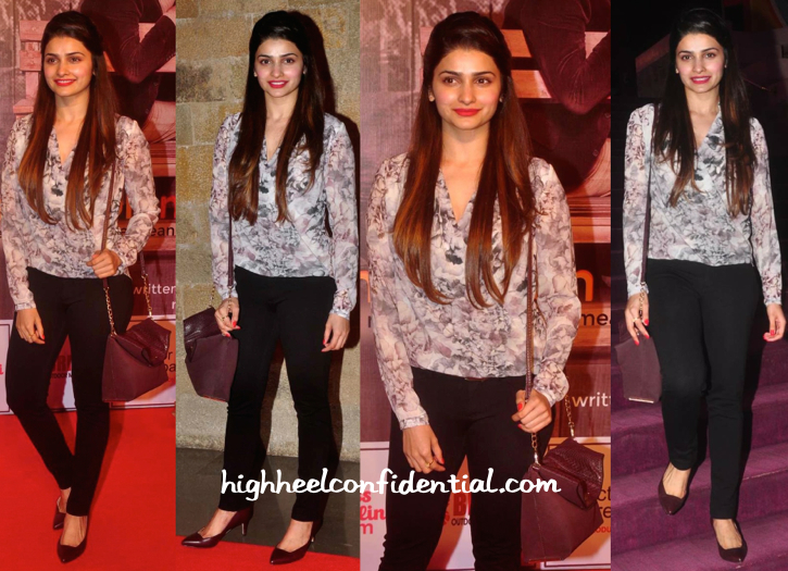 Prachi Desai At Anupam Kher And Neena Gupta Play