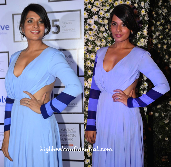 Richa Chadha At Manish Malhotra Resort 2015 Presentation-2