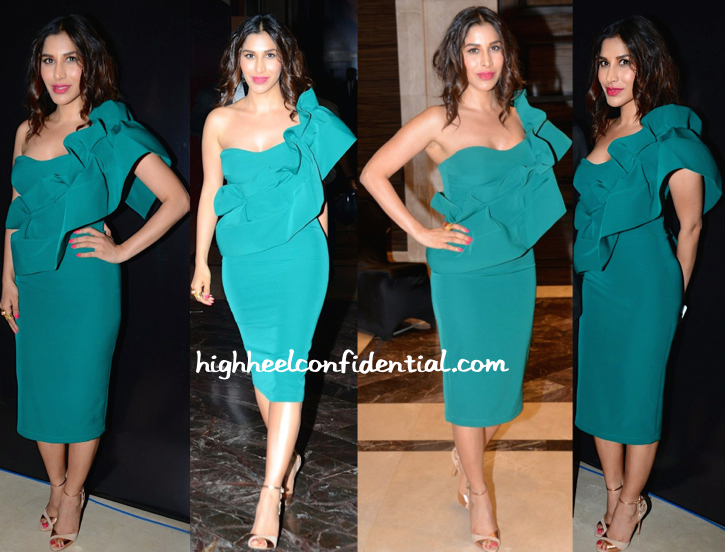 Sophie Choudry In Gauri And Nainika At Lakme Fashion Week 2015