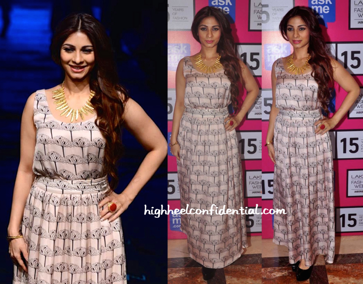 Tanishaa Mukerji At Payal Singhal Presentation, LFW Resort 2015