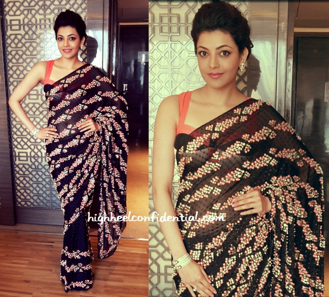 kajal-agarwal-papa-dont-preach-wedding-sari