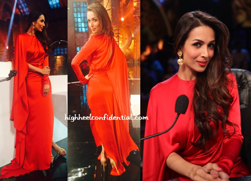 malaika-arora-indias-got-talent-red-shantanu-nikhil