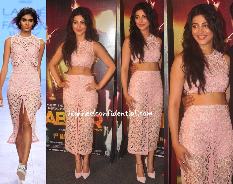 shruti-haasan-gabbar-trailer-launch-nishka-lulla