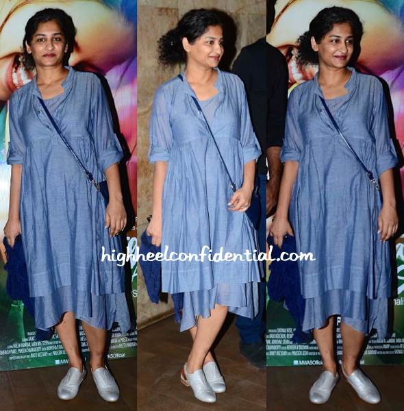 Gauri Shinde At 'Margarita, WIth A Straw' Screening
