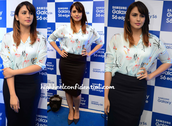 Huma Qureshi At An Event For Samsung