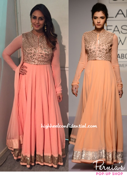 Huma Qureshi Wears Ridhi Mehra To An Event In Mathura