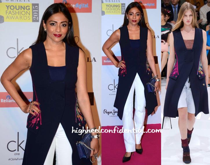 Kalyani Saha In Christian Dior At Grazia Young Fashion Awards 2015