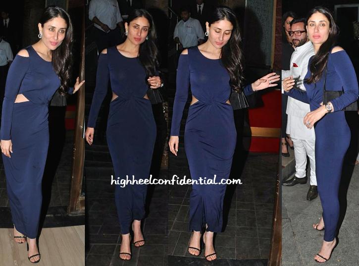 Kareena Kapoor Photographed At Dinner
