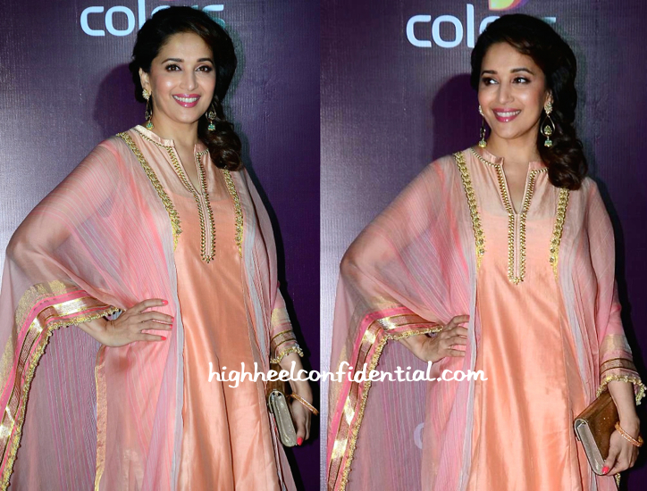 Madhuri Dixit At Colors TV Annual Party 2015-2