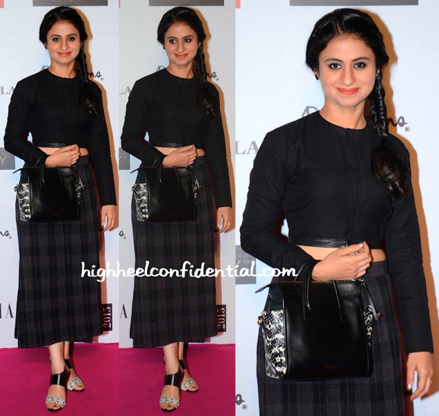 Rasika Dugal In Antar-Agni At Grazia Young Fashion Awards 2015