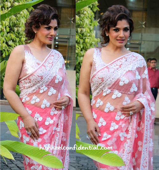 Raveena Tandon In Manish Malhotra At An Event For Religare-2