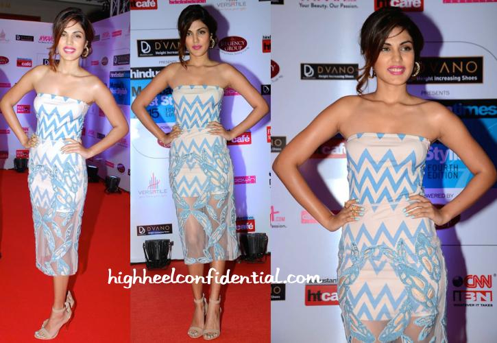 Rhea Chakraborty In Babita M HT Mumbai's Most Stylish 2015