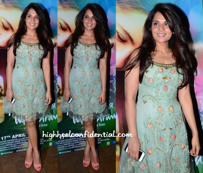 Richa Chadda At Margarita With A Straw Screening