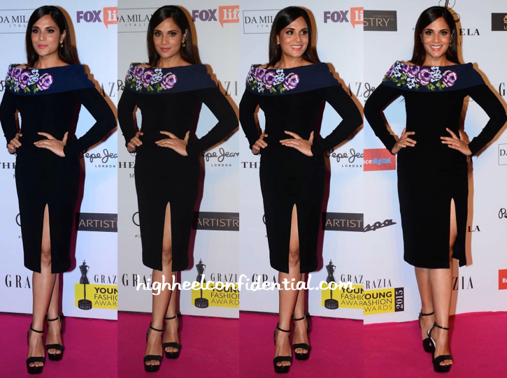 Richa Chadha At Grazia Young Fashion Awards 2015-1