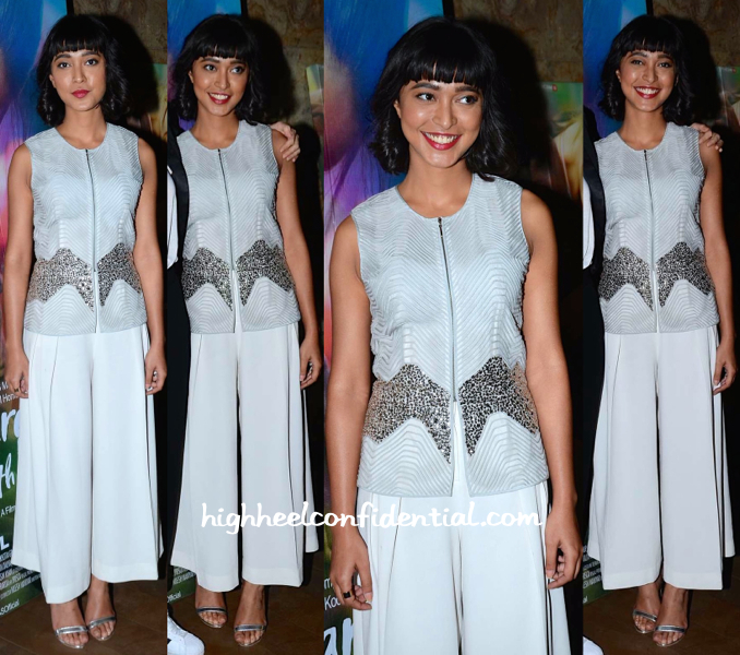 Sayani Gupta In Rohit Gandhi + Rahul Khanna At 'Margarita, With A Straw' Screening