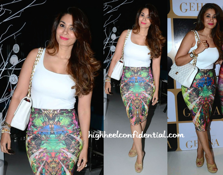 Shaheen Abbas At K Jo For Gehna Limited Edition Holiday Collection Launch