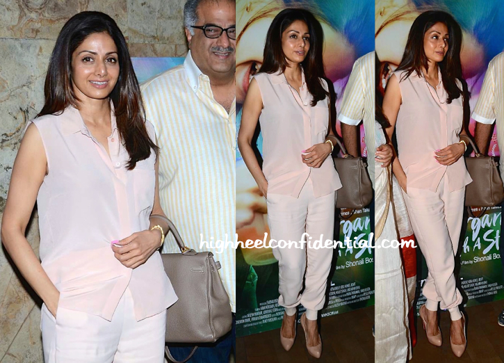 Sridevi At 'Margarita, With A Straw' Screening