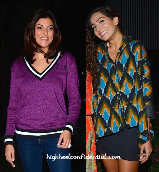 Sushmita Sen And Monica Dogra At Sohum Spa Launch-2
