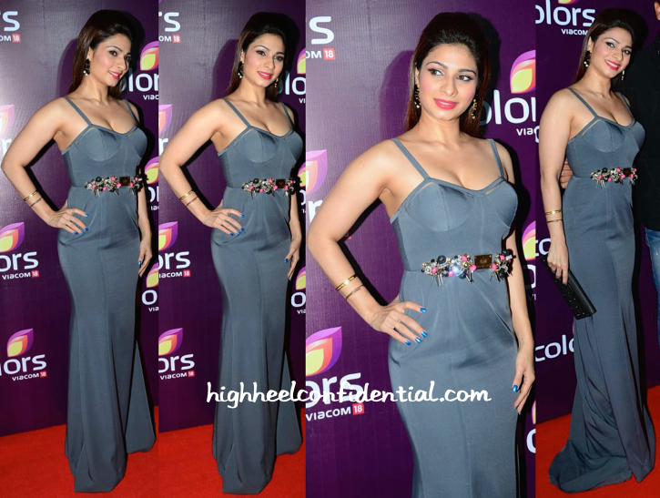 Tanishaa Mukerji At Colors TV Annual Party