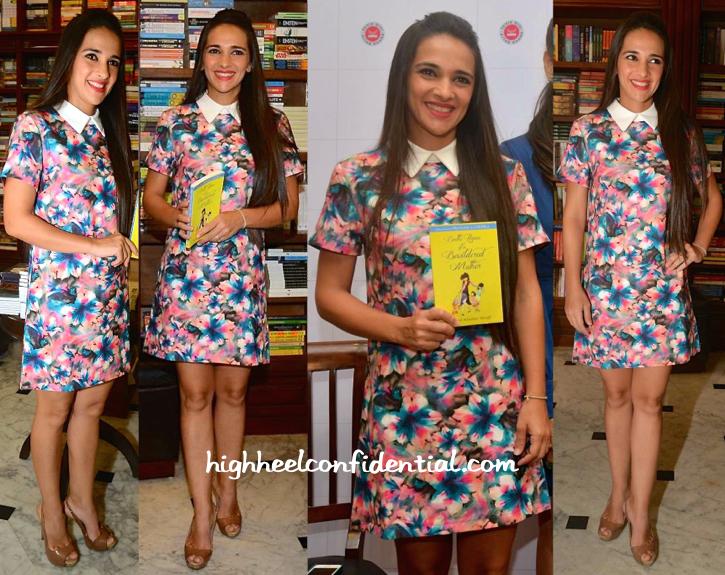 Tara Sharma Saluja At Shunali Shroff's Book Launch