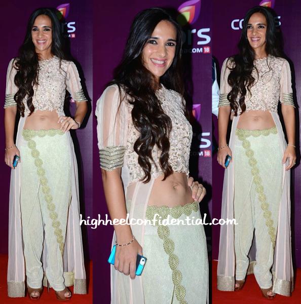 Tara Sharma Saluja In Ridhima Bhasin At Colors TV Annual Party