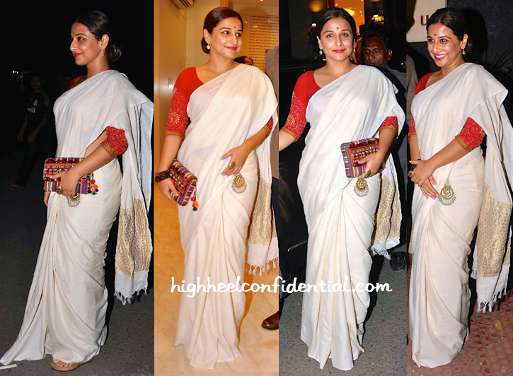 Vidya Balan At Shayonti Roy Kapur's Art Exhibition-1