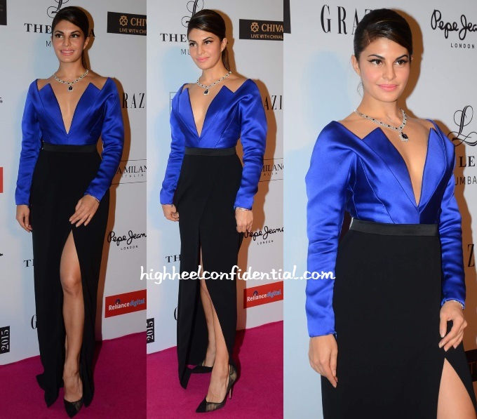 jacqueline-fernandez-armani-prive-grazia-young-fashion-awards-2015