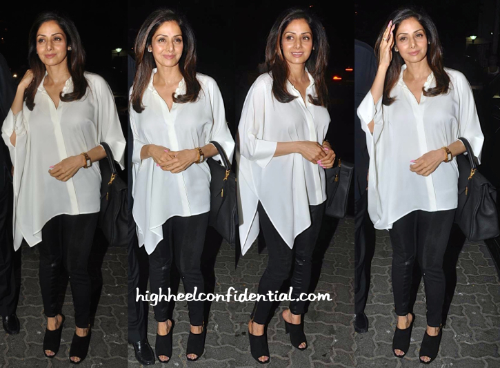 sridevi in gucci at anil kapoor's party
