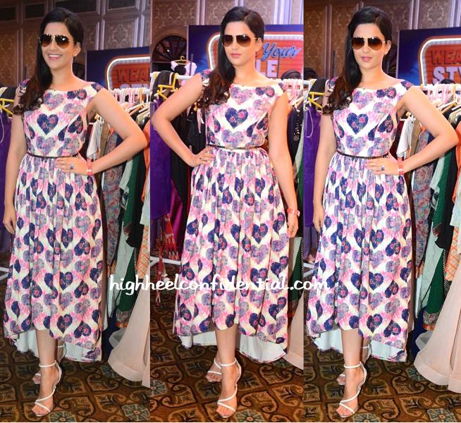 Deeksha Seth In Nisha Sainani At Elle Carnival 2015-1