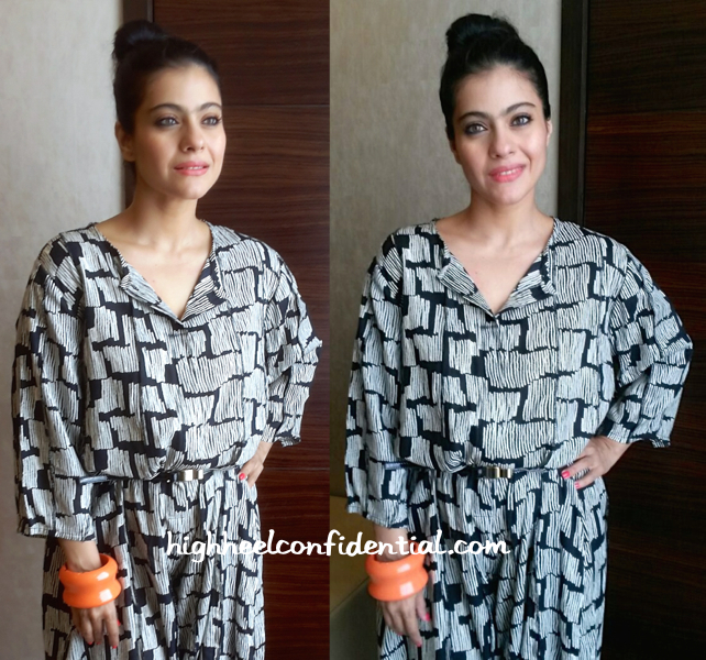 Kajol Attends A Breast Health Awareness Event Wearing Bungalow 8 And Hermes-2