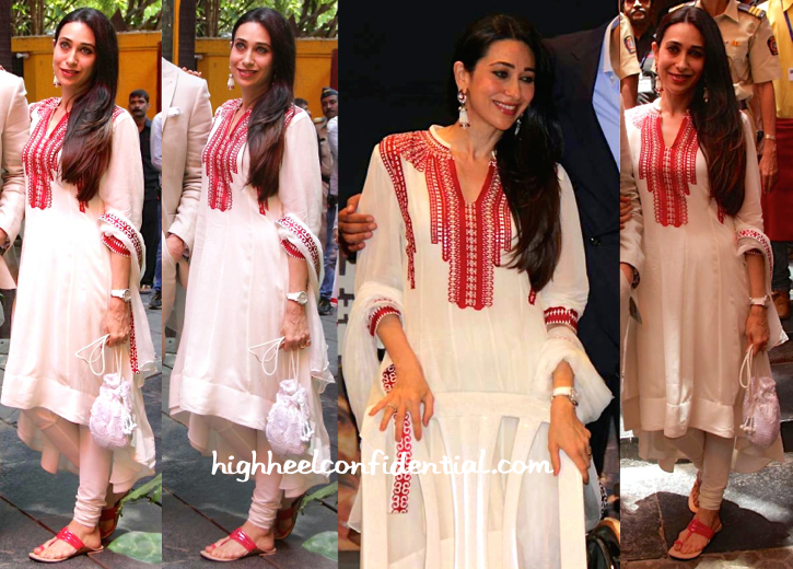 Karisma Kapoor Wears AM-PM By Ankur And Priyanka Modi To Dadasaheb Phalke Award Felicitation-2