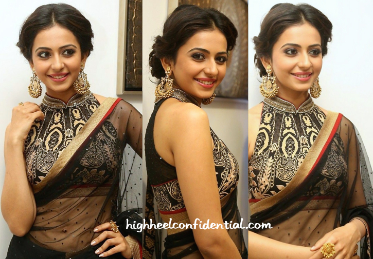 Rakul Preet In Ritu Kumar And Amrapali At 'Kick 2' Music Launch-1
