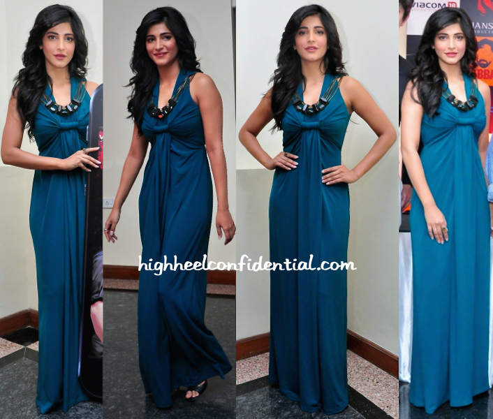 Shruti Haasan In Ranna Gill At 'Gabbar' Game App Launch-1