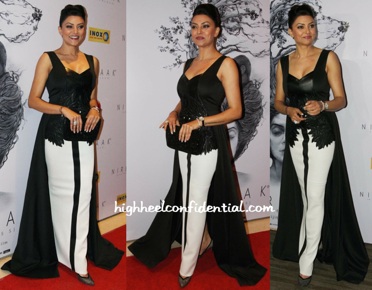 Sushmita Sen In Amit Aggarwal At 'Nirbaak' Premiere-2