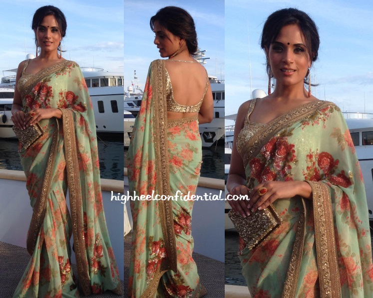 richa-chadha-sabyasachi-masaan-screening-cannes-2015