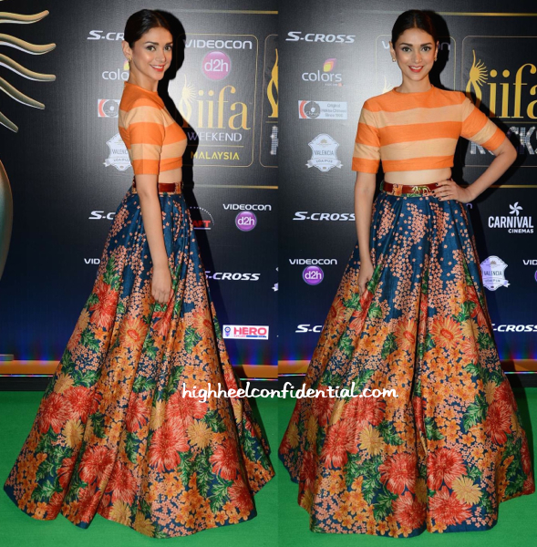 Aditi Rao Hydari In Sabyasachi At IIFA Rocks 2015-1