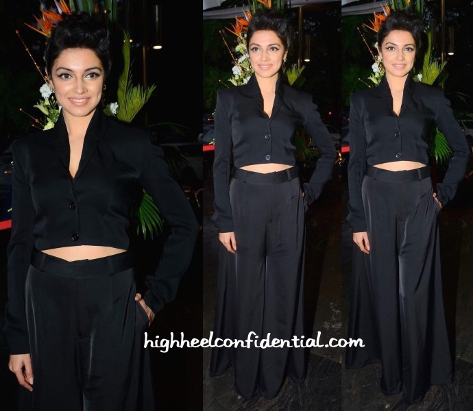 Divya-Khosla-Kumar-In-431-88-By-Shweta-Kapur-And-Maithili-Kabre-At-Anj-Store-Launch-2-690x600