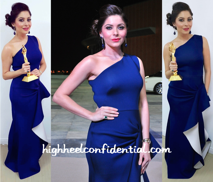 Kanika Kapoor In Gauri And Nainika At AIBA 2015