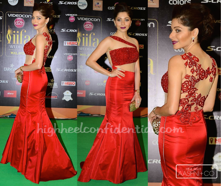 Kanika Kapoor In Kukoon At IIFA 2015-1