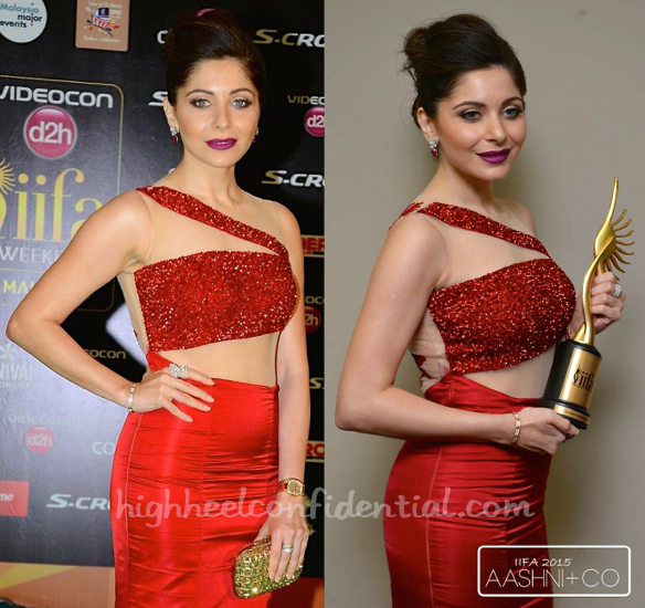 Kanika Kapoor In Kukoon At IIFA 2015-2
